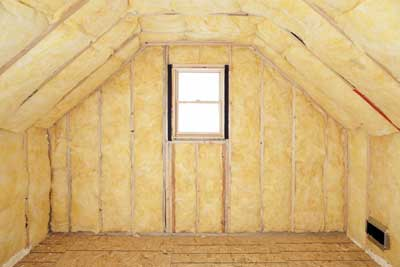 Attic Insulation in Barrie, Ontario